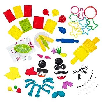 100PCS Juego de herramientas de plastilina para arcilla y masa Juego de herramientas de plastilina para