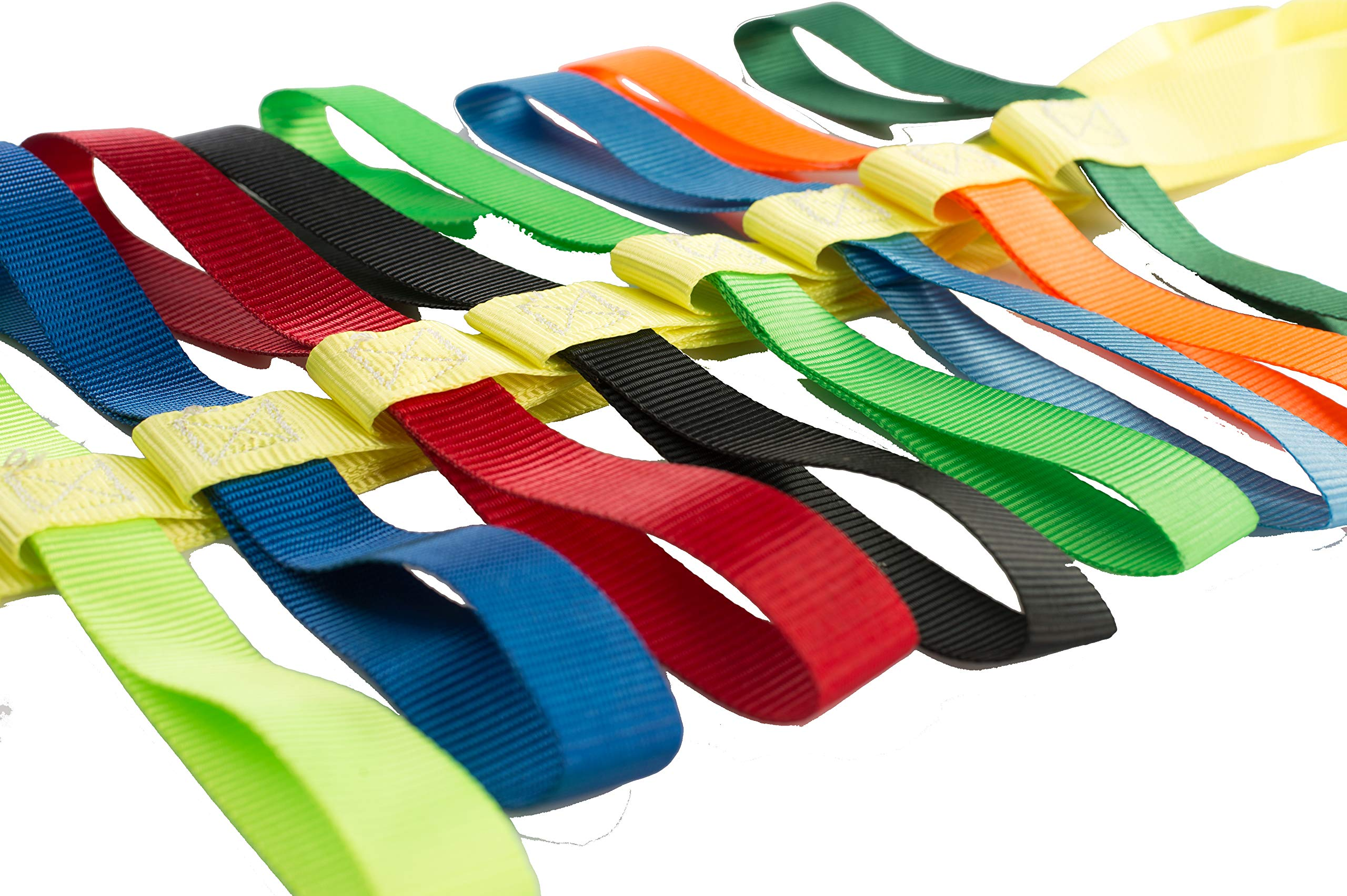 The Learning Classroom Preschool Walking Rope, Carry Bag, 16-Colorful Handles, Blue/Green/Yellow, 1-Pack or 2-Pack, Daycare, Toddler by The Learning Classroom (Image #4)