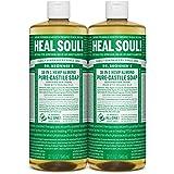 Dr. Bronner's Pure-Castile Liquid Soap - Almond 32oz. (32 Fl Oz (Pack of 2))