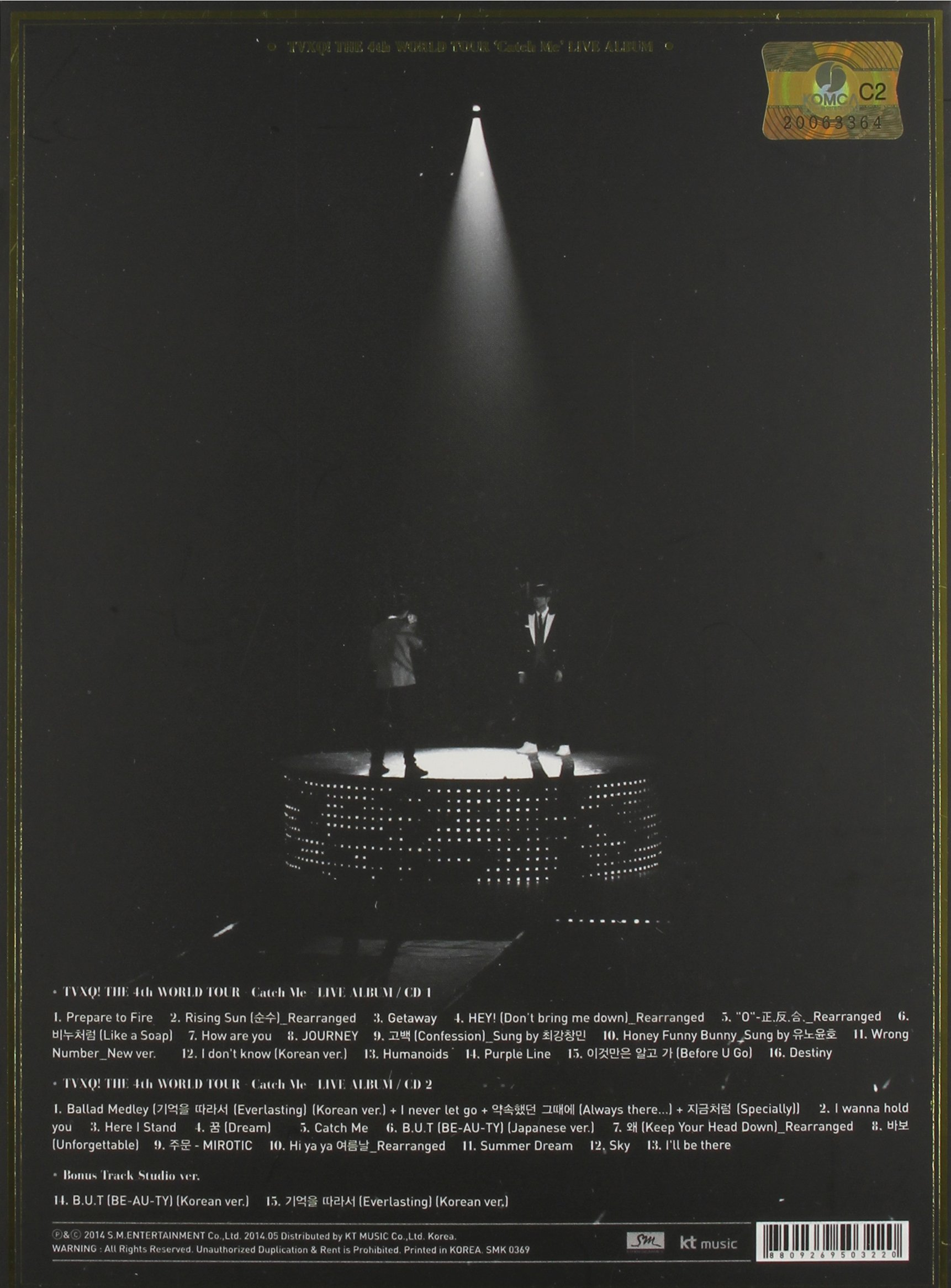 TVXQ! the 4th World Tour by Sm Entertainment (Image #1)