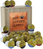 DOG LOVER'S Single Serve Coffee Variety Cups - 24 Cups In A Keepsake Wooden Gift Box
