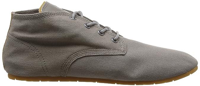 Eleven ParisBasclassic - Sneaker Unisex Adulto, Gris (Charcoal), 36