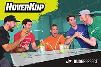 346291278c3 Amazon.com  Nerf Dude Perfect HoverKup Toy Pong Game  Toys   Games