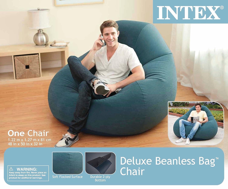 Intex Deluxe Beanless Beanless Deluxe Bag Sessel, a760c8