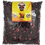 Suchiate - Hibiscus Tea Flowers - 450 Grams 1 Pound Resealable Bag - All Natural, Vegan Agua De Jamaica Leaves- Sun Dried Hib
