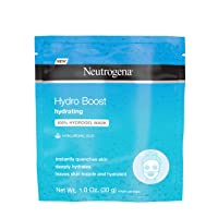 Neutrogena Hydro Boost Moisturizing & Hydrating 100% Hydrogel Sheet Mask, Face Mask...