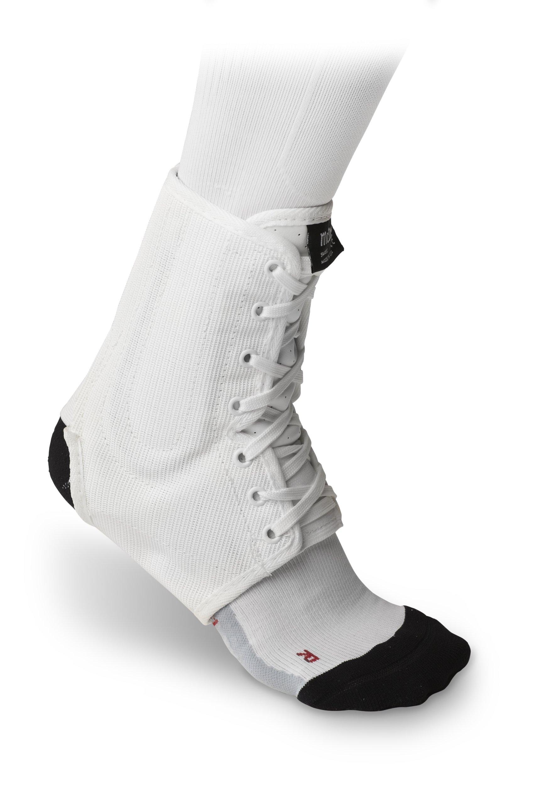 McDavid Classic Lightweight Ankle Brace (White, X-Large)