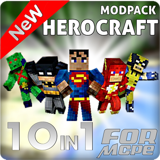 1 Plane (SUPERHERO MODPACK 10 in 1)