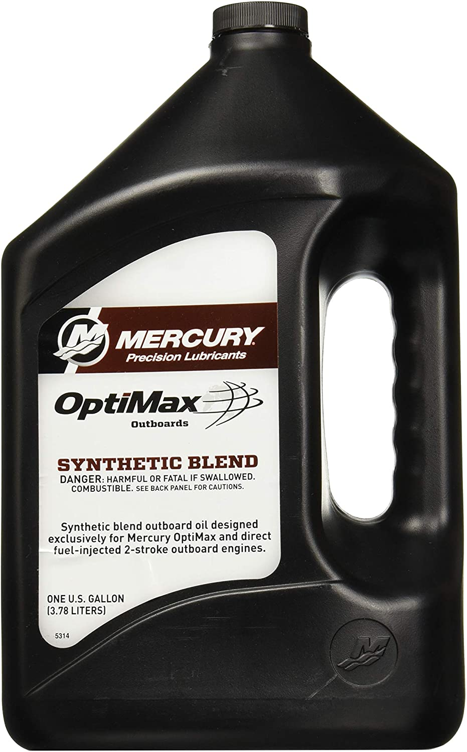 Mercury Optimax /DFI 2-Cycle Outboard Oil 1 Gallon 92-858037K01
