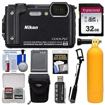 Amazon.com: Nikon Coolpix W300 4 K WIFI Shock & cámara ...