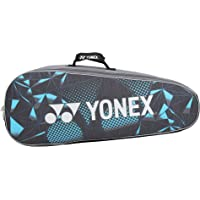 Yonex LRB06MS BT6 Badminton Bag, BT 6 (Blue/Silver)