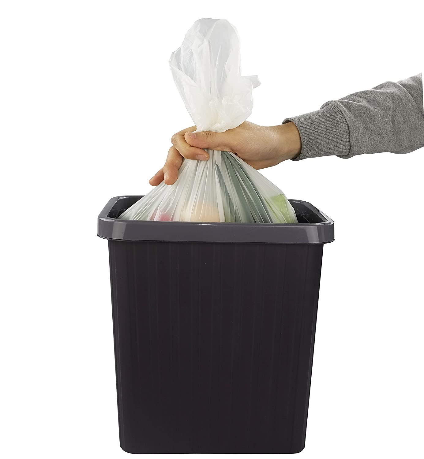 F 100/% Certified Biodegradable Compost Bags Morcte White 10 Gallon Compostable Trash Bags 100 Counts