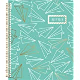 "Mead Academic Weekly / Monthly Planner, July 2017 - June 2018, 8-1/2"" x 11"", Gold & Bold, Airplane Design (CAW508D2)"