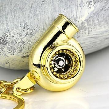 muchkey® Creative Spinning Llavero, llavero, diseño de ...