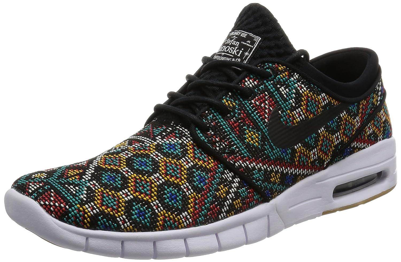 c04e7de52f225 Nike Men's Stefan Janoski Max PRM Skate Shoe Black/Black White Gm ...