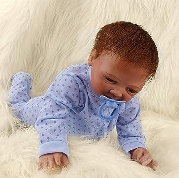 Amazon.es: Realista Muñecas Bebé Reborn Niño Recién Nacido Silicona Suave de Vinilo Bebé Reborn Niña Hecha a Mano Regalo de Cumpleaños Para Niños 20 Pulgadas 50 cm: Juguetes y juegos