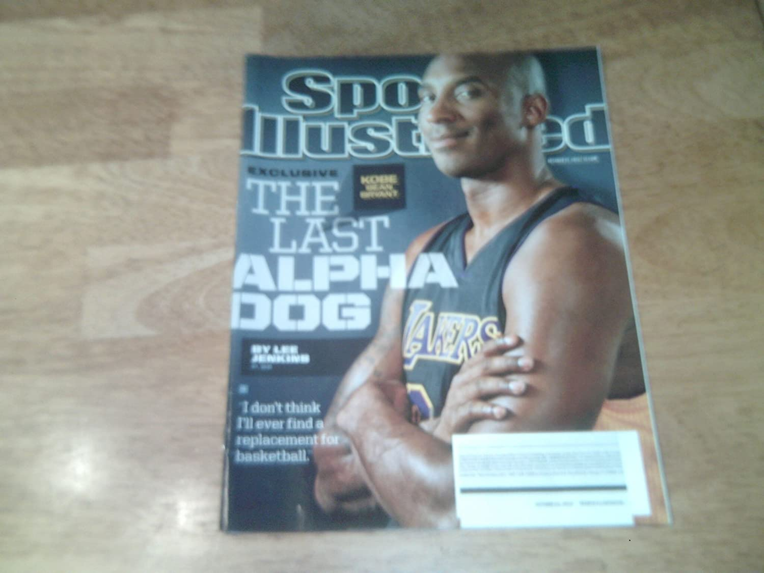 4c95a3c3f9e Amazon.com   Sports Illustrated Magazine October 21 2013   Kobe Bryant  Sports Illustrated Magazine   Everything Else