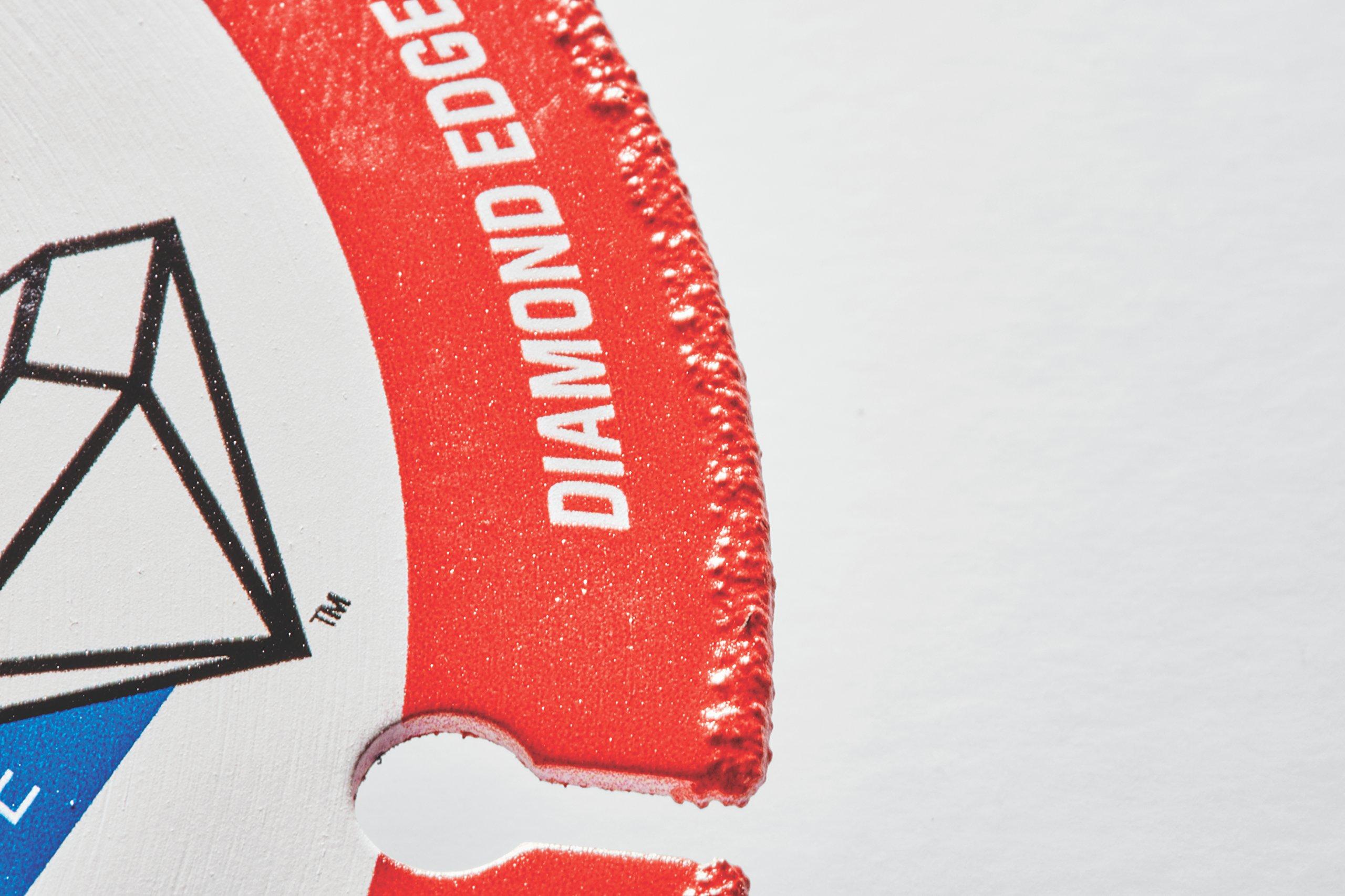 Lenox Tools 1972918 METALMAX Diamond Edge Cutoff Wheel, 3'' x 3/8'' by Lenox Tools (Image #4)