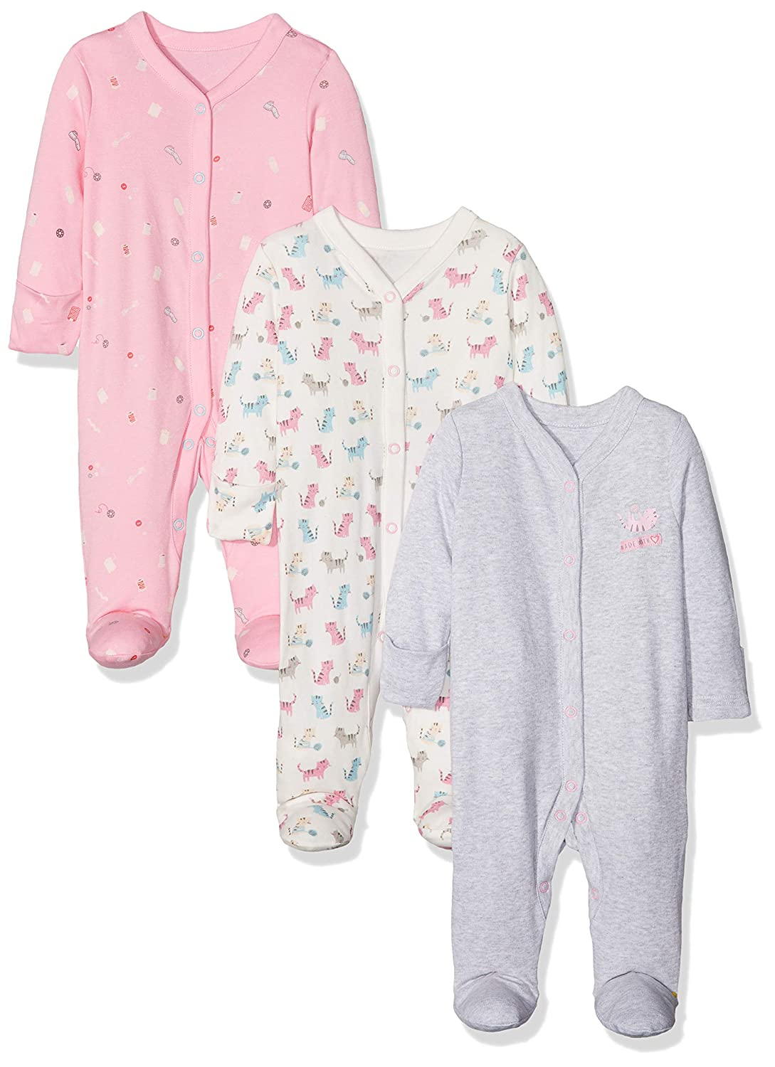 Mothercare Baby Girls' Sleepsuit QB258