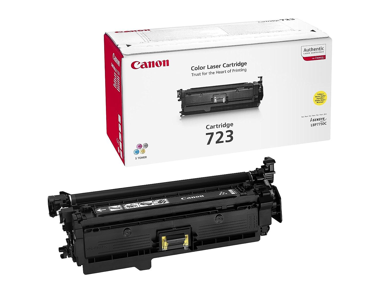 Canon Original Yellow Laser Toner Cartridge 718 226855 Ready 810 Black Ori Office Products