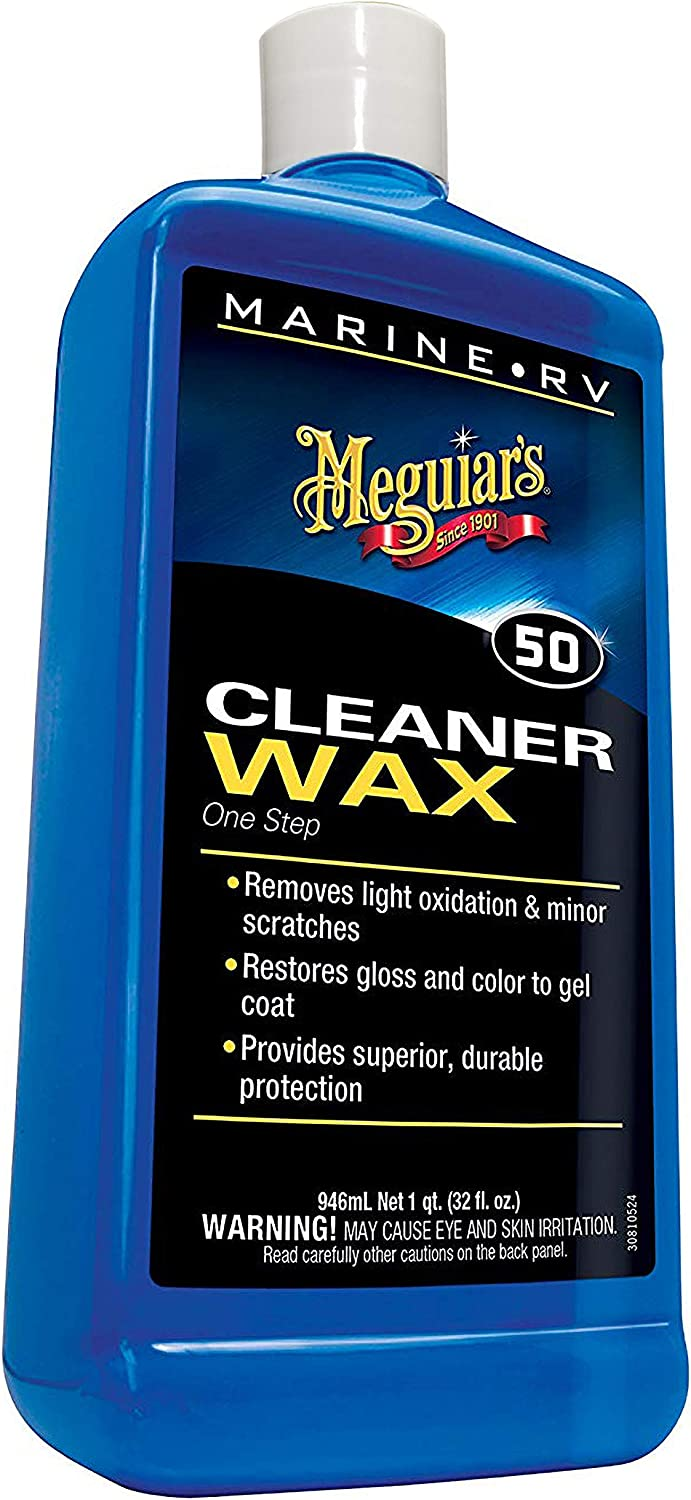 Meguiar's Marine/RV One Step Cleaner Wax