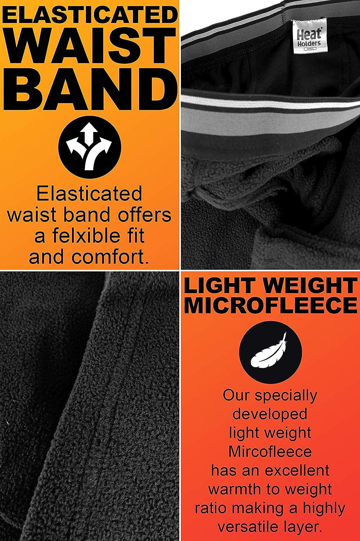 HEAT HOLDERS Hombre Microfleece Invierno Esqui Pantalon Interior Termico