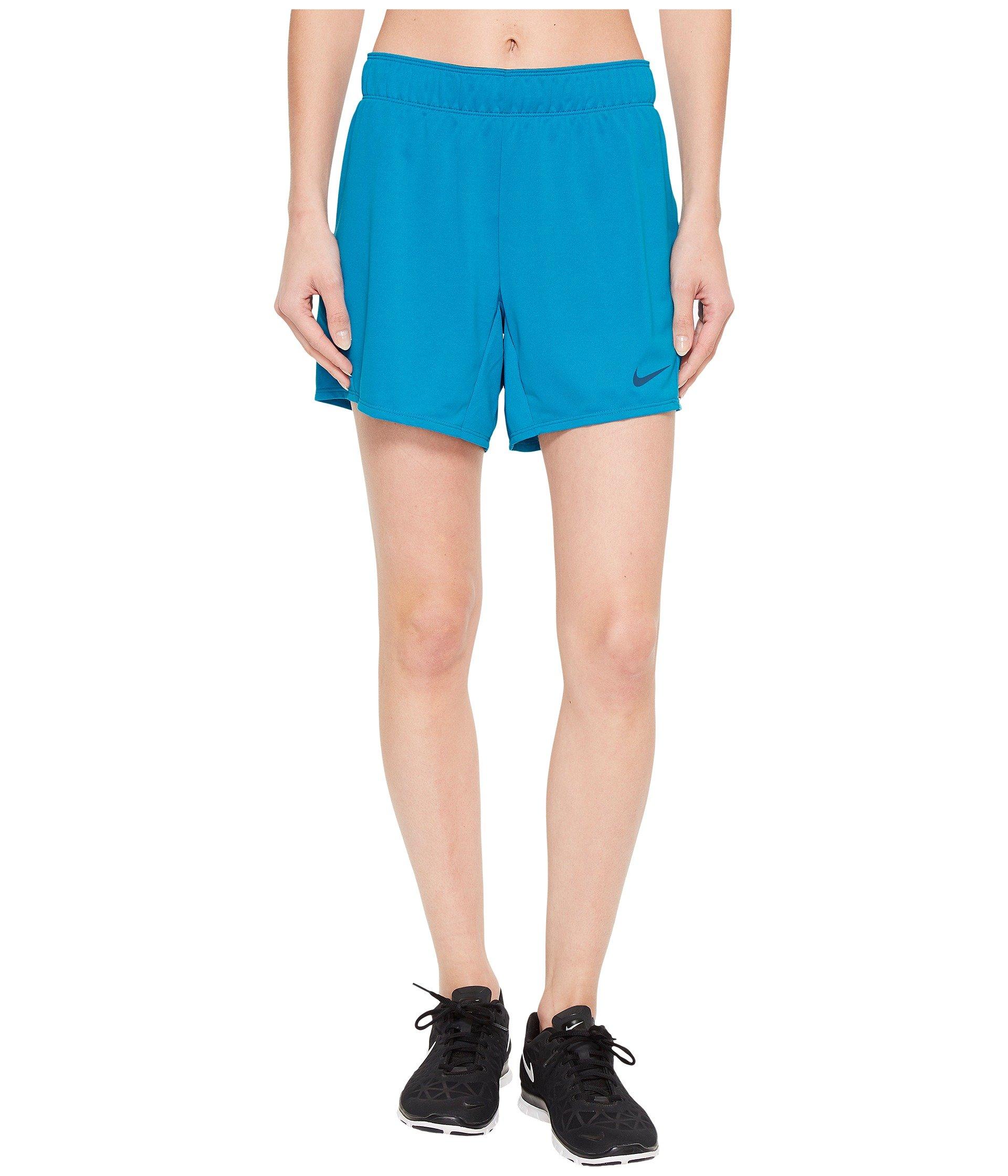 Nike Attack Training Shorts Womens (Medium 5.5, Neo Turquoise/Blue Force)