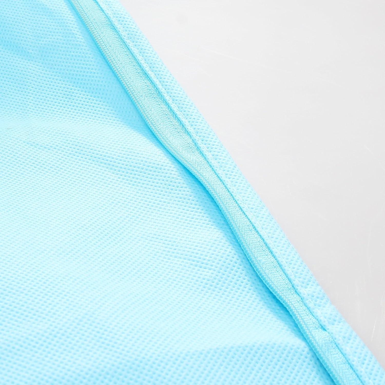 TUKA [5 St. Set] Atmungsaktiver Atmungsaktiver Atmungsaktiver Kleidersack 180 cm Länge, Schutzhülle Brautkleider Abendkleider Anzüge Mäntel - Langer Reissverschluss - Zwei Taschen für Zubehörteile, Schwarz TKB1001-schwarz-5x B077PRB5YD Kleiderscke 38f00b