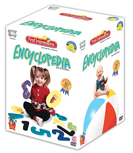 Brainy Baby: First Impression Encyclopedia - Set of 10 TV Shows at amazon