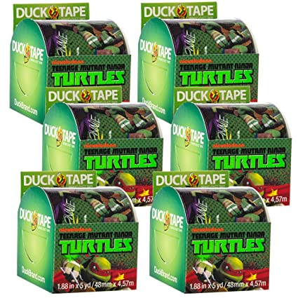 Duck Brand 6 rollos Teenage Mutant Ninja Turtles Cinta ...