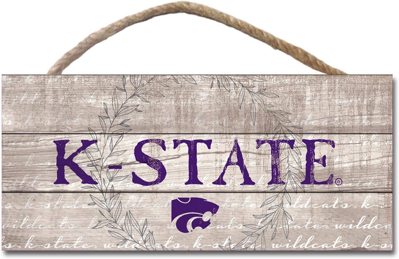 Legacy NCAA Fan Shop Wood Plank Hanging Sign 10x5