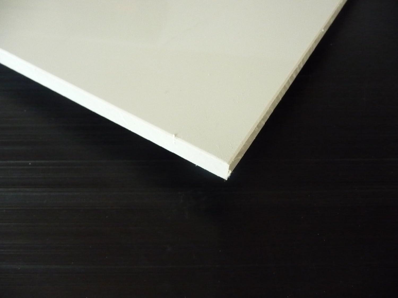 Lastre PP grigio 1000 x 495 x 2 mm piastra polipropilene Pannello compatto alt-intech/®