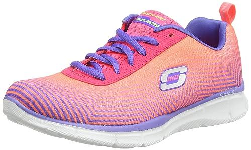 skechers EQUALIZER - EXPECT MIRACLES - Zapatillas de deporte para mujer   Amazon.es  Zapatos y complementos 74c23fa387d35