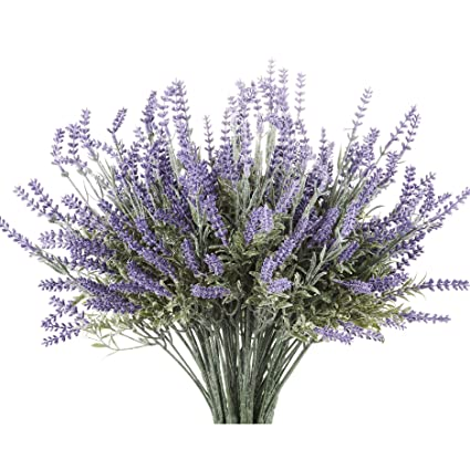 Amazon butterfly craze artificial lavender plant with silk butterfly craze artificial lavender plant with silk flowers for wedding decor and table centerpieces 4 mightylinksfo