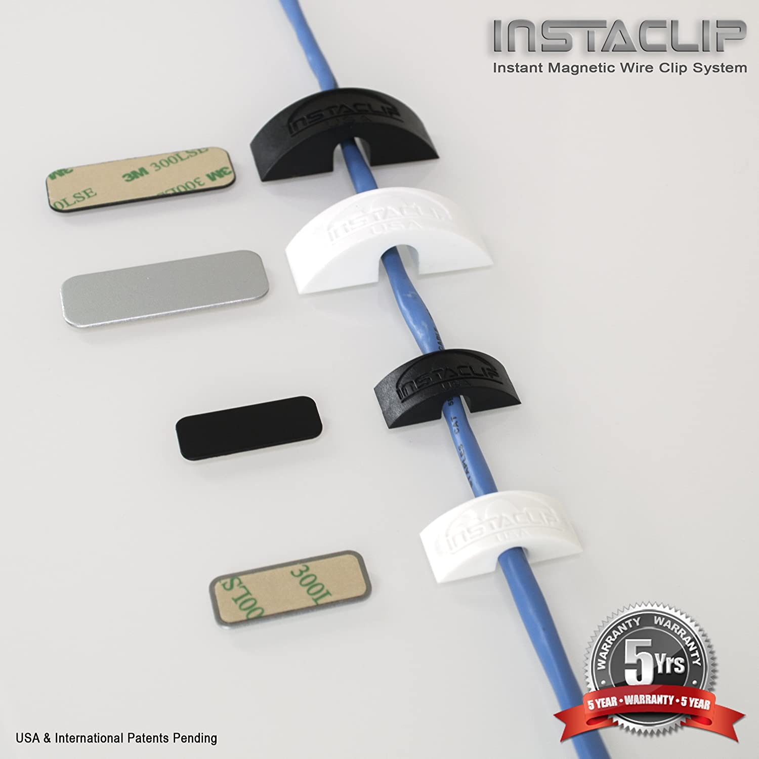 Pack of InstaClip Instant Magentic Stick On Permanent but Temporary ...