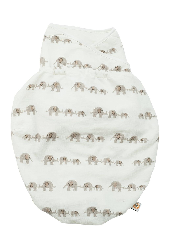 Ergobaby Swaddle Wrap, Original Swaddler, Elephant
