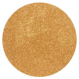 Citrus Irridescent Orange Eyeshadow - Highly Pigmented Professional Makeup Eye Shadow Single Pan, Wet or Dry Magnetic Refill, Paraben Gluten Free Make Up, Cruelty Free Cosmetics Beauty Junkees [26mm]