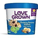 Love Grown Hot Oats, Blueberry Banana Walnut, 2.22 Ounce (Pack of 8)