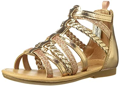a8b698ab39a15 Amazon.com: Carter's Fenna Girls' Infant-Toddler Sandal: Shoes