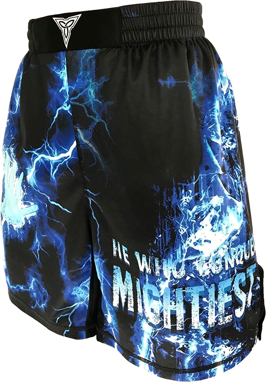 TRI-TITANS Ultimate Saiyan Vegeta Fight Shorts MMA Wrestling Kickboxing
