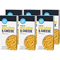 Amazon Brand - Happy Belly Original Macaroni & Cheese, 7.25 oz (Pack of 6)