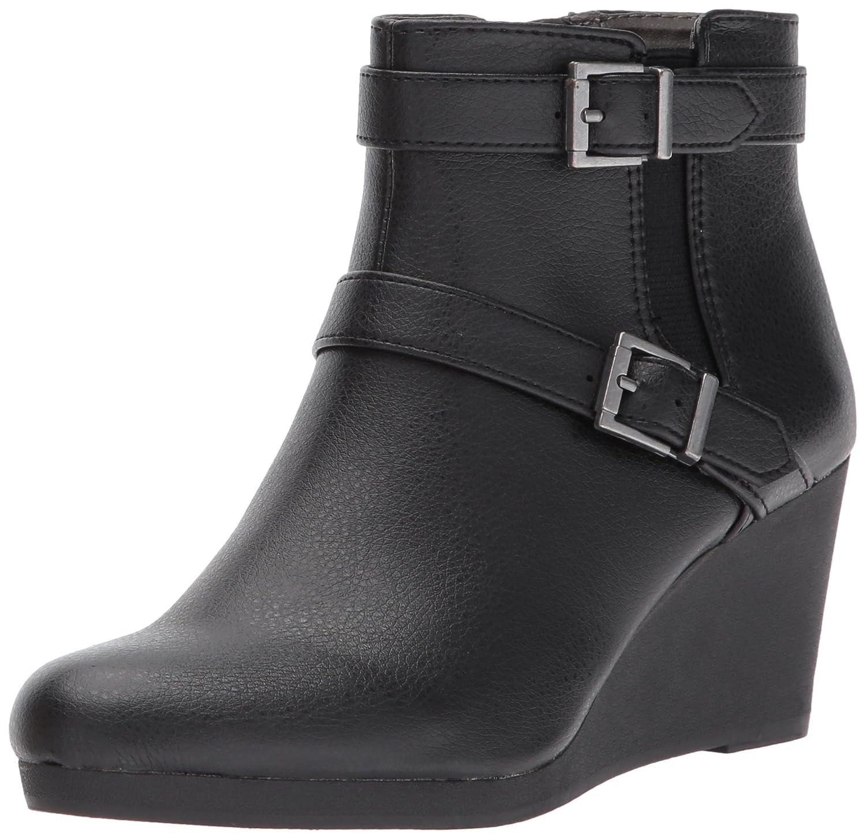 LifeStride Women's Neeva Ankle Bootie B07326J9XQ 6 W US|Black