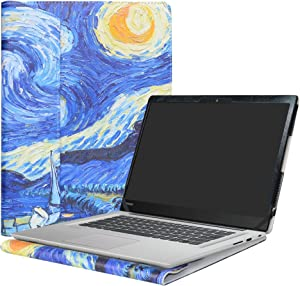 """Alapmk Protective Case for 14"""" Lenovo Ideapad 320s 14 320s-14ikb & Ideapad 520s 14 520s-14IKB & Ideapad Slim 1 14 1-14AST-05 & ideapad S150 14 Laptop(Note:Not fit Ideapad 330s/530s),Starry Night"""