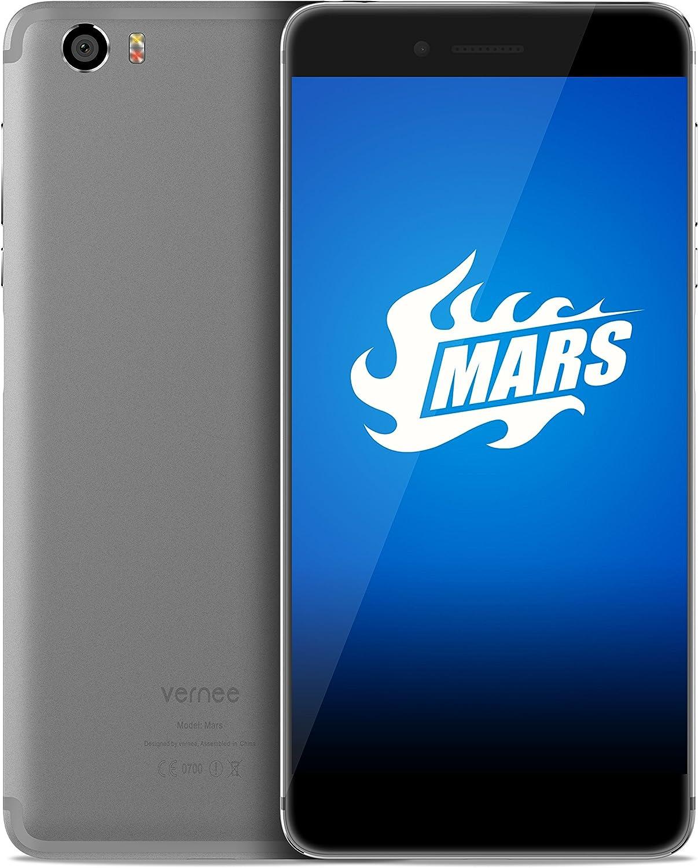 Vernee Mars Android 6.0 Smartphone 5,5 pulgados MTK6755 Octa Core ...