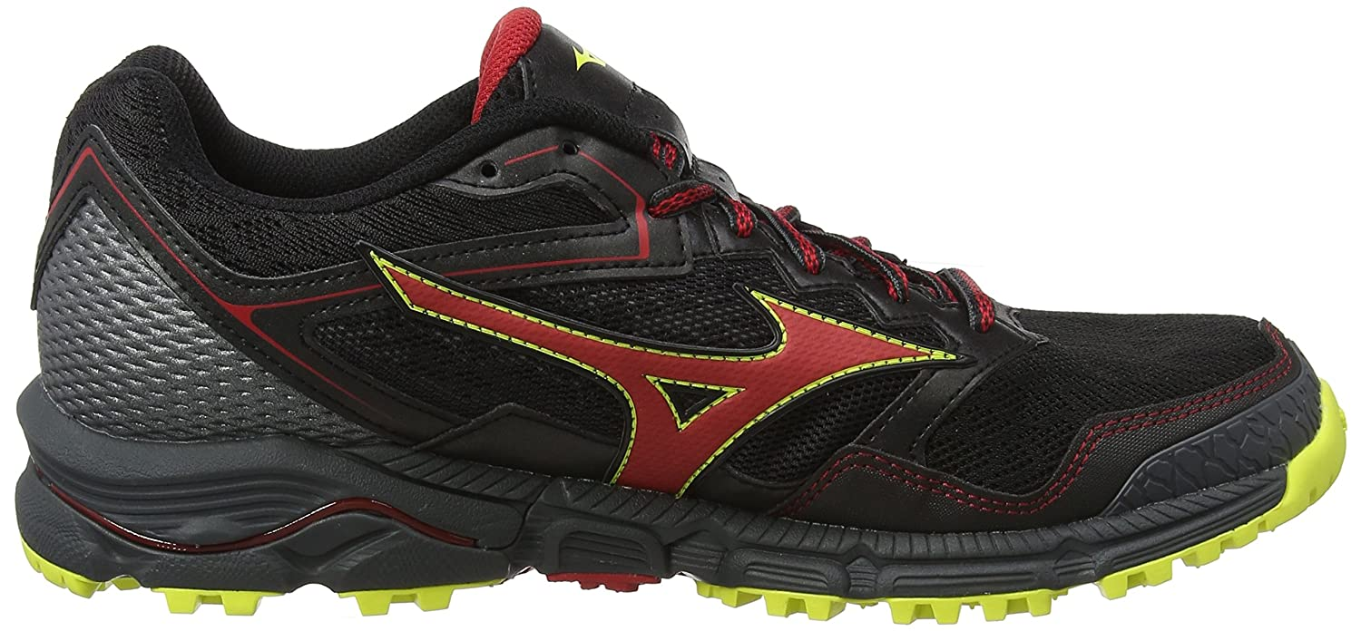 Mizuno Wave Daichi 3, Chaussures de Running Homme, Multicolore (Blackformulaoneflash), 41 EU