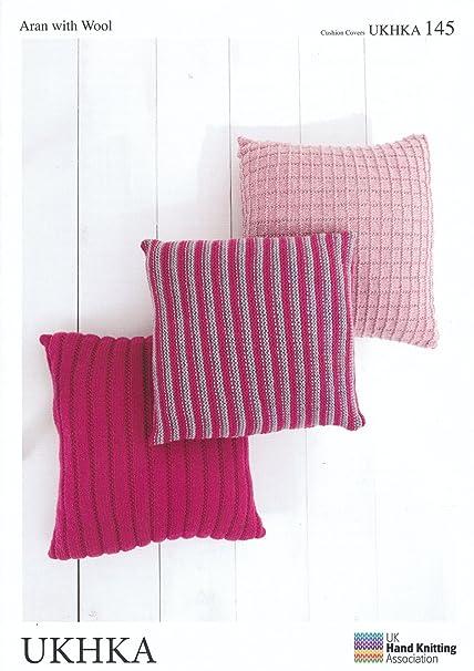 Ukhka 145 Knitting Pattern Cushion To Knit In Chunky And Aran Wool