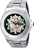 ANDROID Men's AD705AK Hercules Analog Automatic-Self-Wind Silver Watch