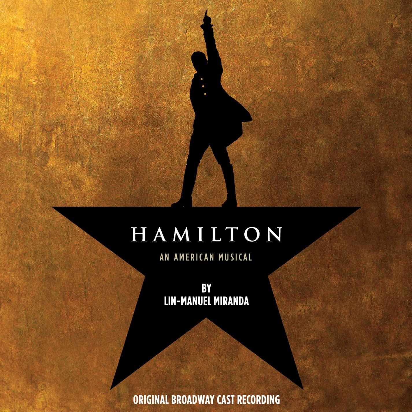 Hamilton (Original Broadway Cast Recording)(Edited)(2CD) by Atlantic (Label)