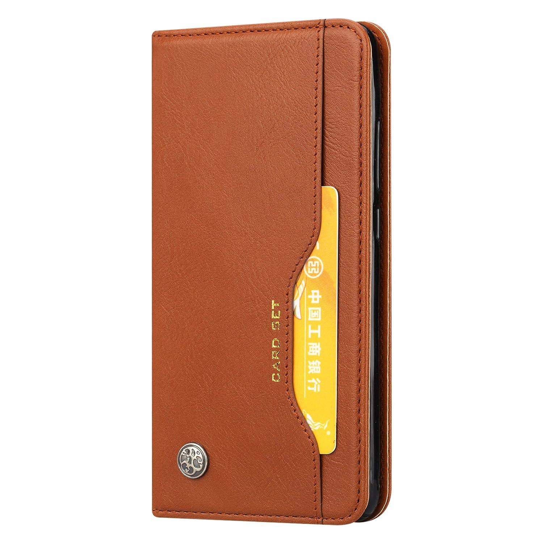 CaseLover ES Funda Xiaomi Mi MAX 3, Carcasa Piel PU Suave Flip Folio Caja para Xiaomi Mi MAX 3 Estilo Libro Cuero Premium Cartera TPU Silicona Case: ...