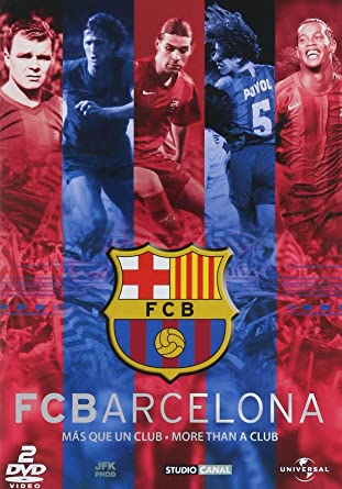 FC Barcelona-Mas Que un Club [NTSC/REGION 1 & 4 DVD.